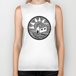 House of Lines Black Biker Tank