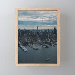 Empire State Building 3 Framed Mini Art Print