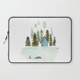I see a whale! Laptop Sleeve