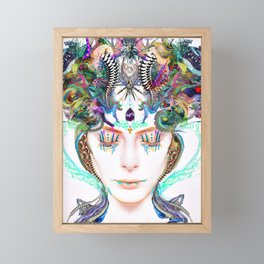 Dive Into Framed Mini Art Print