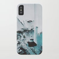 glitch iPhone & iPod Cases featuring Glitch by SUBLIMENATION