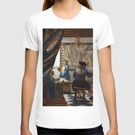 Johannes Vermeer Art of Painting T-shirt