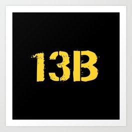 13B Cannon Crewmember Art Print