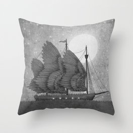 Night Odyssey  Throw Pillow