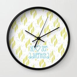 Yo amo ser Adventista Wall Clock