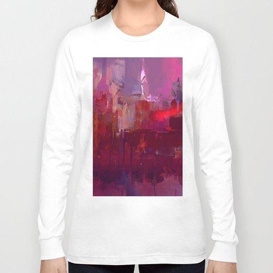 Red city Long Sleeve T-shirt