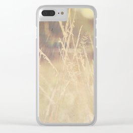 Hazy Days of Summer Clear iPhone Case