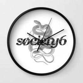Society6 Wall Clock