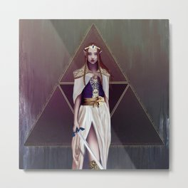 Princess Zelda Metal Print