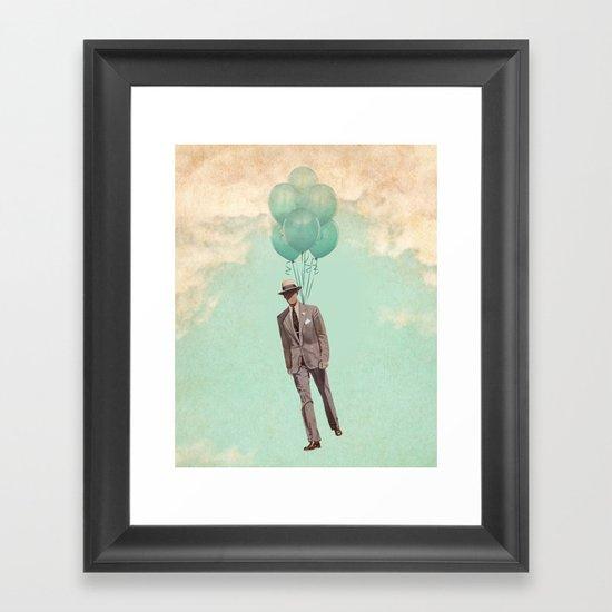 The light suit Framed Art Print