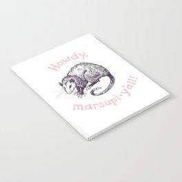 Friendly Opossum Notebook