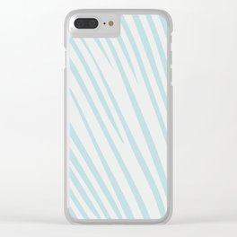 Minimalist Accent Throw Pillow Clear iPhone Case