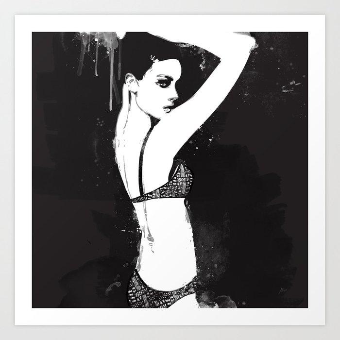 Wet Paint Art Print