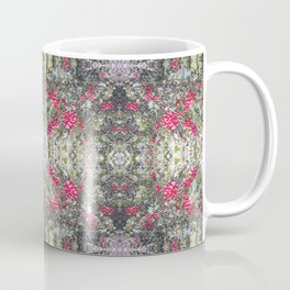 Very Berry Holly Christmas Multi Fractal from Photo 806 Coffee Mug