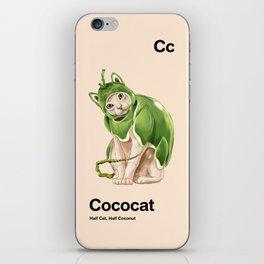 Cc - Cococat // Half Cat, Half Coconut iPhone Skin
