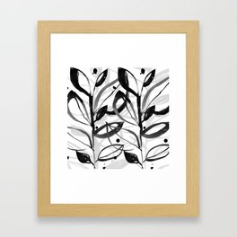 Botanical Joy No.7A by Kathy Morton Stanion Framed Art Print