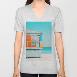 Santa Monica / California Unisex V-Neck