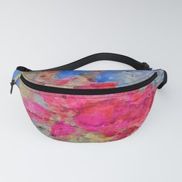 Red apple blossom Fanny Pack