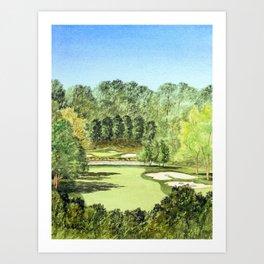 Glen Abbey Golf Course Canada Art Print