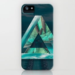The Bermuda Triangle iPhone Case