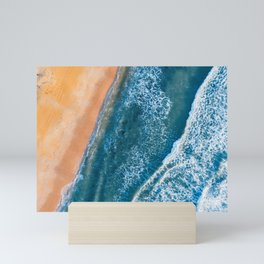 Beach and Ocean Perspective Mini Art Print
