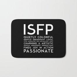 ISFP (black version) Bath Mat