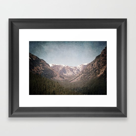 Montana Blues Framed Art Print
