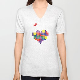 Tetris Love Unisex V-Neck