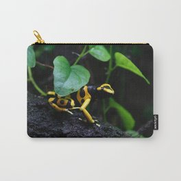 Poison Dart Frog D. Leucomelas Carry-All Pouch