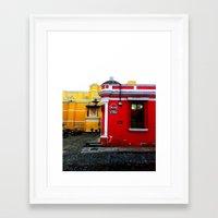 palo alto Framed Art Prints featuring Alto by veronicayvette