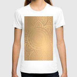 Gold Mandala 2 T-shirt