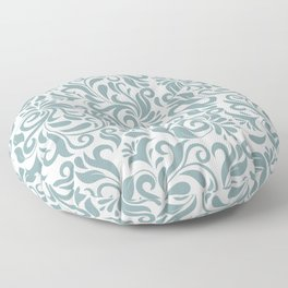 Tracery pattern Floor Pillow