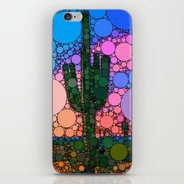 Contemporary Cactus iPhone Skin