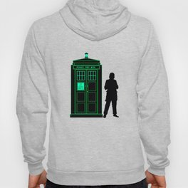 Tardis With The First Doctor Hoody