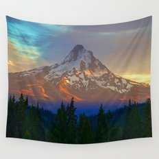 When Adventure Begins Wall Tapestry