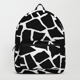 Mosaic Zoom Black and White Backpack