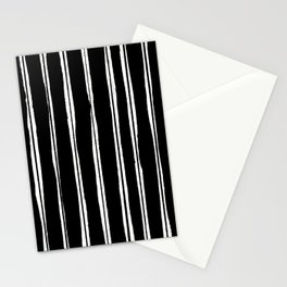 Uneven Stripes Stationery Cards