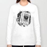 tarot Long Sleeve T-shirts featuring Tarot talk by pam wishbow
