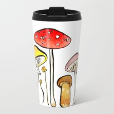 Woodland Mushrooms Travel Mug