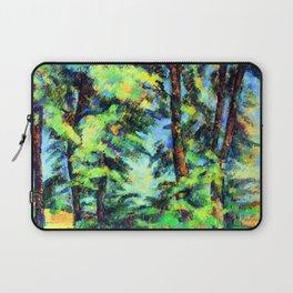 Cezanne Tall Trees in the Jas de Bouffan Laptop Sleeve