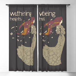 BOOKS Collection Wuthering Heights Blackout Curtain