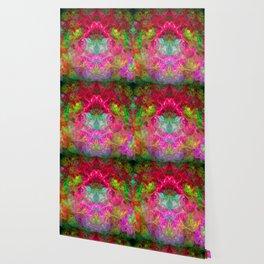 Hallucinogenic Hibiscus Flowers Wallpaper