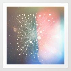 Connected Stars Art Print