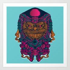 MODOK Art Print