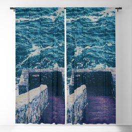 The 40 Steps - Cliff Walk - Newport, Rhode Island Blackout Curtain