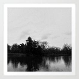 Nature, landscape and twilight 8 Art Print