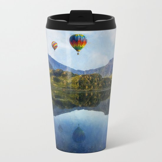 Morning Flight Metal Travel Mug