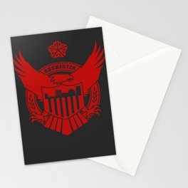 AOR Red Stationery Cards