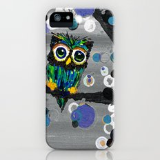 ::Gemmy Owl Weather's the Storm:: Slim Case iPhone (5, 5s)