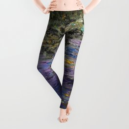 Monet's Giverny Gardens Leggings